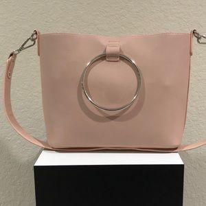 Pink Handbag w/ Silver Hardware